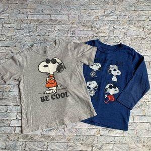 Bundle of Snoopy shirts size 3t